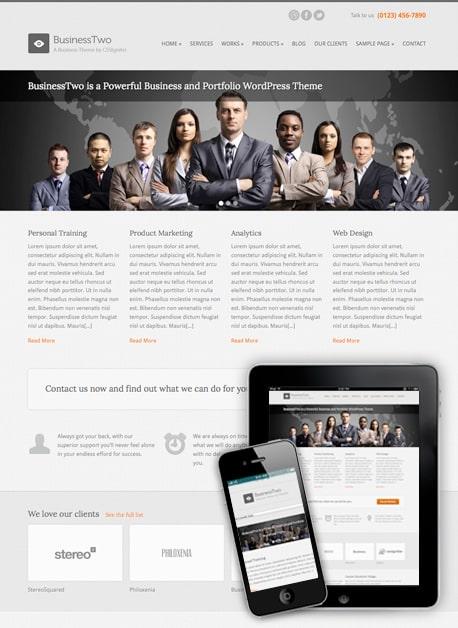 Temas WordPress para Sites Empresariais