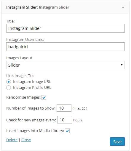 Exibir Instagram no WordPress