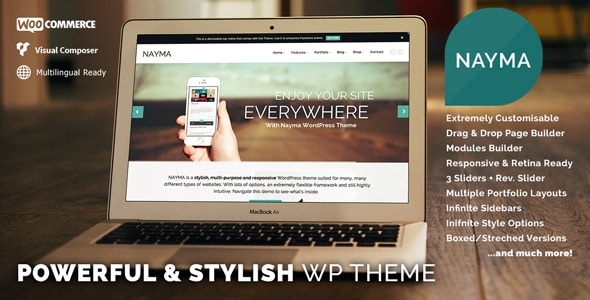 Temas WordPress para Sites Empresariais