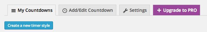 Countdown Widget com Uji Countdown - Criar estilo