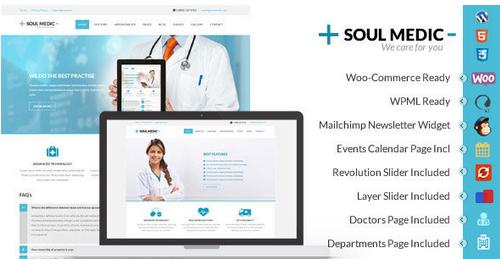 Temas para Área Médica - SoulMedic