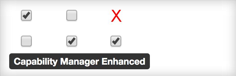 WordPress User Roles - Capability Manager Enhanced