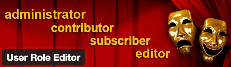 WordPress User Roles - User Role Editor
