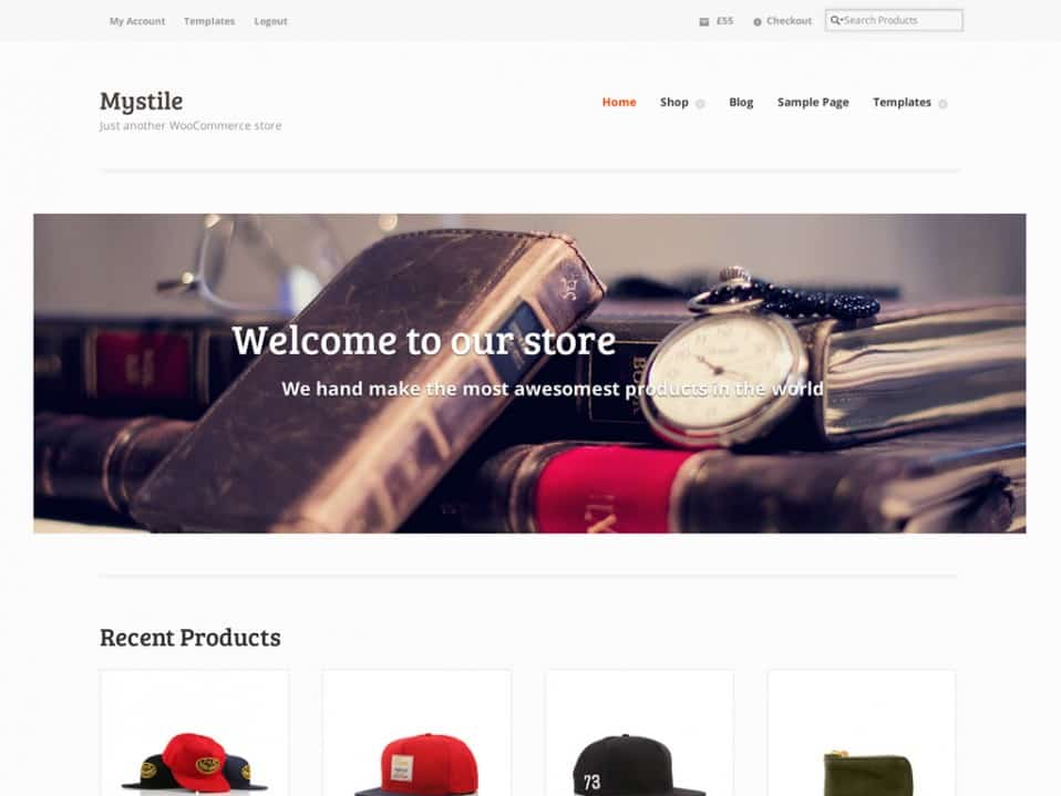 WordPress WooCommerce - Mystile