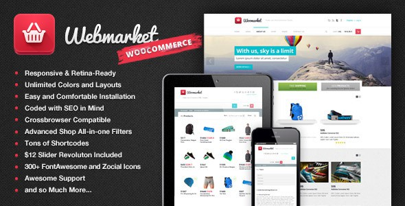 WordPress WooCommerce - Webmarket