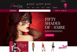 Tema WooCommerce Loja Virtual Desire