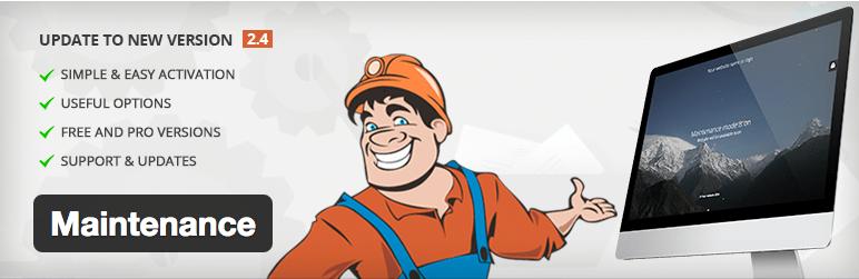 Plugins WordPress Under Construction - Maintenance