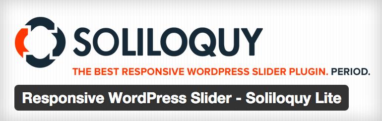 Plugins wordpress para site de noticias - Soliloquy