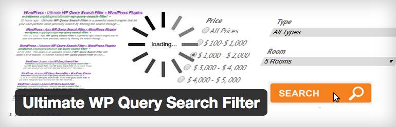 Plugins wordpress para site de noticias - Ultimate WP Query Search Filter