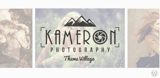 Temas WordPress para Fotografos - Kameron