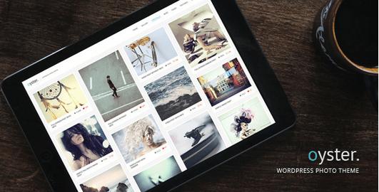 Temas WordPress para Fotografos - Oyster