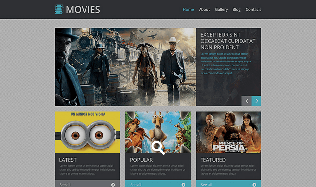 Temas WordPress para Videos - Movie Responsive
