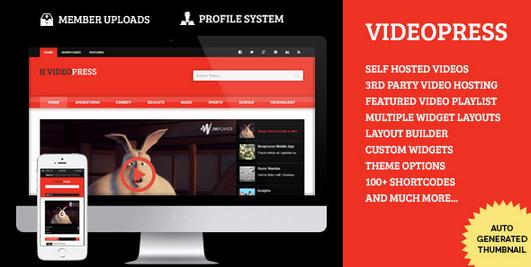 Temas WordPress para Videos - VideoPress