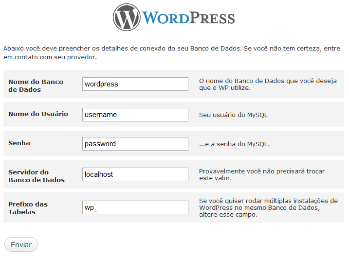 WordPress Security - Altere o prefixo das tabelas