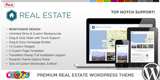 Temas WordPress para Imobiliarias - WP Pro Real Estate 3