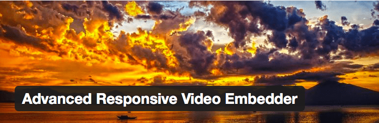 Videos no WordPress - Advanced Responsive Video Embedded