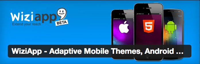 WooCommerce Plugins - WiziApp Adaptive Mobile Themes