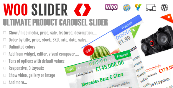 WooCommerce Plugins - Woo Slider