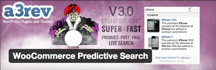 WooCommerce Plugins - WooCommerce Predictive Search
