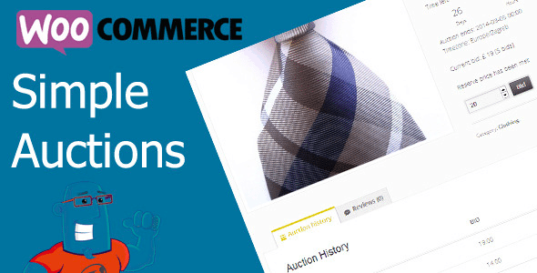 WooCommerce Plugins - WooCommerce Simple Auctions