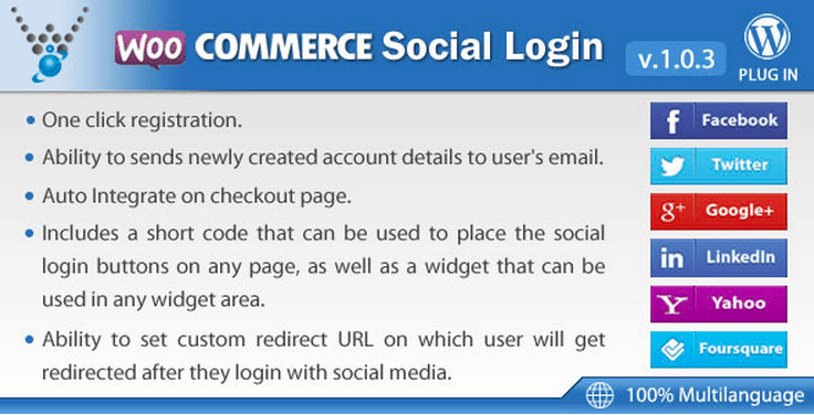WooCommerce Plugins - WooCommerce Social Login