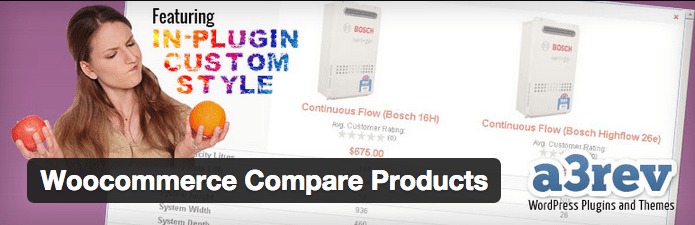 WooCommerce Plugins - Woocommerce Compare Products