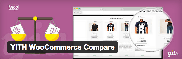WooCommerce Plugins - YITH WooCommerce Compare