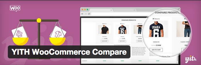 WooCommerce Plugins YITH WooCommerce Compare - 30 WOOCOMMERCE PLUGINS INTERESSANTES PARA SUA LOJA VIRTUAL
