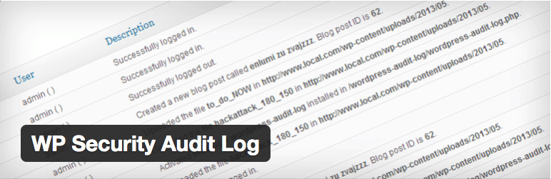 Plugins Multisite WordPress - WP Security Audit Log