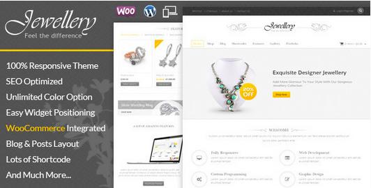 Temas para WordPress Joalheria - Jewellery