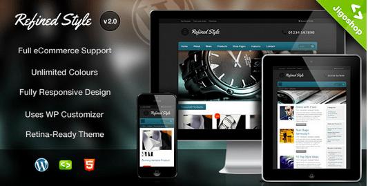 Temas para WordPress Joalheria - Refined Style