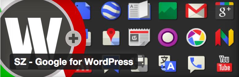 Widget Plugins WordPress - SZ Google for WordPress