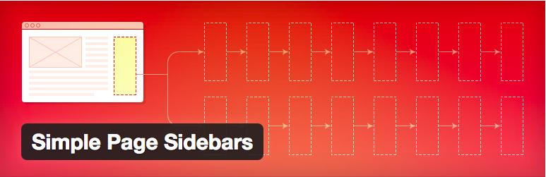 Widget Plugins WordPress - Simple Page Sidebars