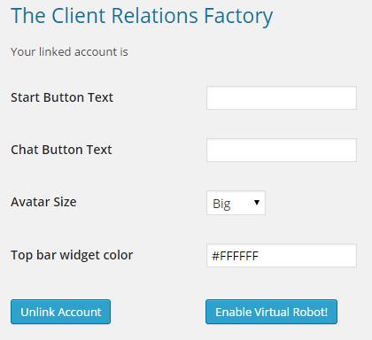 WordPress Virtual Assistant - Configuração e Customização The Client Relations Factory