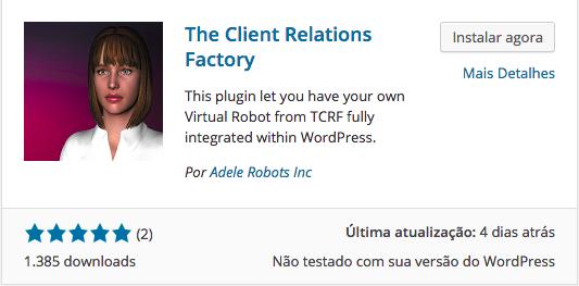 WordPress Virtual Assistant - Download e Instalação do The Client Relations Factory