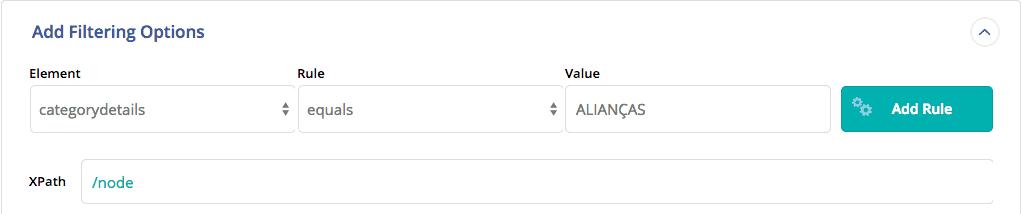 Importação WooCommerce - Filtros para importar