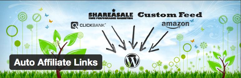 Plugins WordPress Afiliados - Auto Affiliate Links
