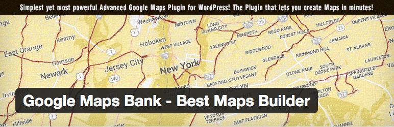 Gmaps Plugin WordPress - Google Maps Bank