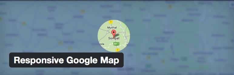 Gmaps Plugin WordPress - Responsive Google Map