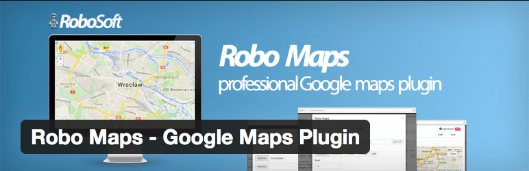 Gmaps Plugin WordPress - Robo Maps Google Maps Plugin