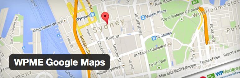 Gmaps Plugin WordPress - WPME Google Maps