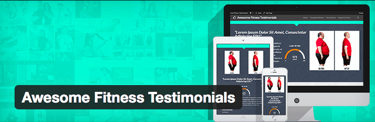 Plugins Depoimentos WordPress - Awesome Fitness Testimonials