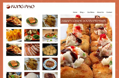Temas WordPress Restaurante - Chinese Restaurant