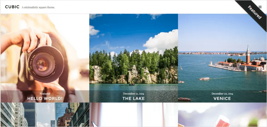 Themes WordPress Travel Free - Cubic