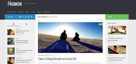 Themes WordPress Travel Free - Hueman
