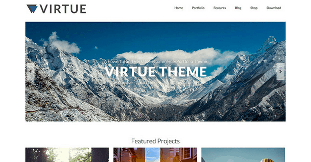Themes WordPress Travel Free - Virtue