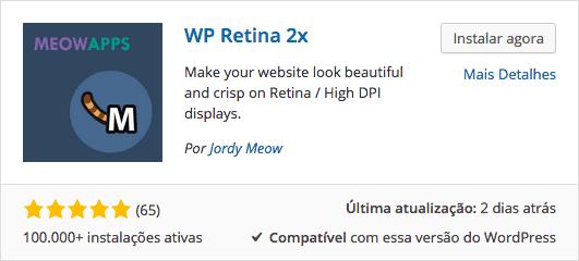 WP Retina 2x - Download e Instalação