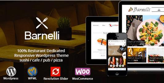 Temas Premium para Fast Food - Barnelli