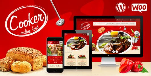 Temas Premium para Fast Food - Cooker