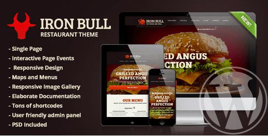 Temas Premium para Fast Food - Iron Bull